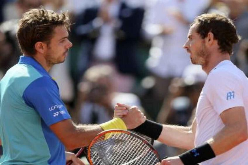 Stan Wawrinka and Andy Murray Have a Light Hearted Exchange on Social Media