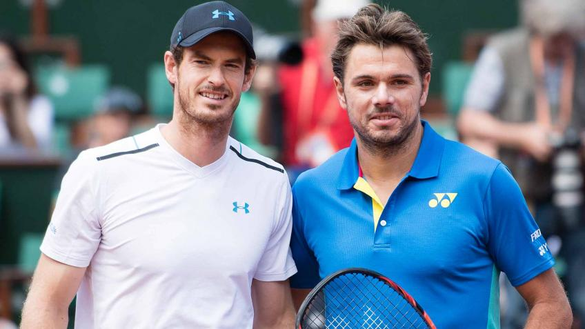 Stan Wawrinka and Andy Murray share funny exchange