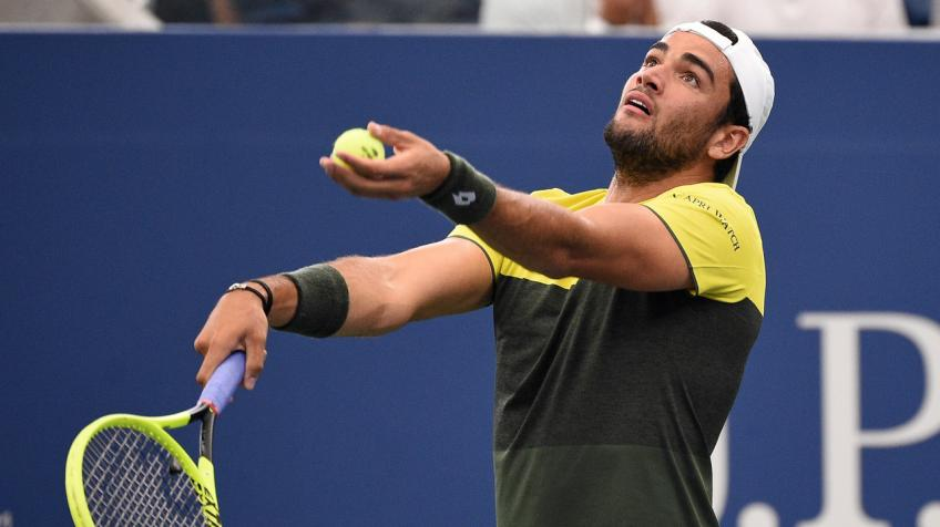 Matteo Berrettini shares tips to reduce risks against the virus