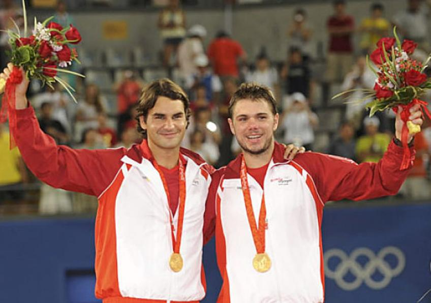 Stan Wawrinka shares Olympic gold memory with Roger Federer