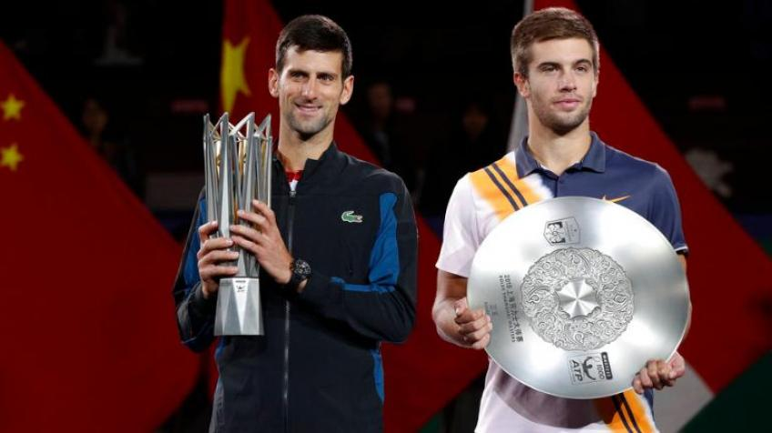 "Coric: ""Djokovic is tougher than Roger Federer and Rafael Nadal"""