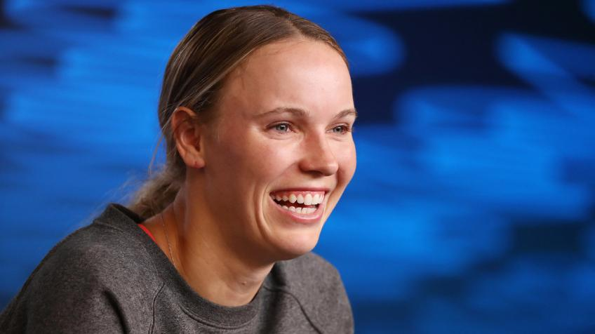Caroline Wozniacki: Someone Stole a Puzzle Out of our cart before we even checked out