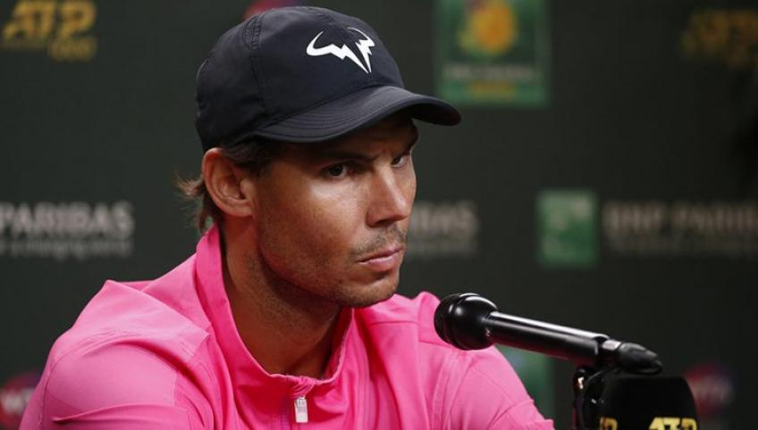 "Rafael Nadal: ""Like all the changes in this life, it is necessary to adapt"""