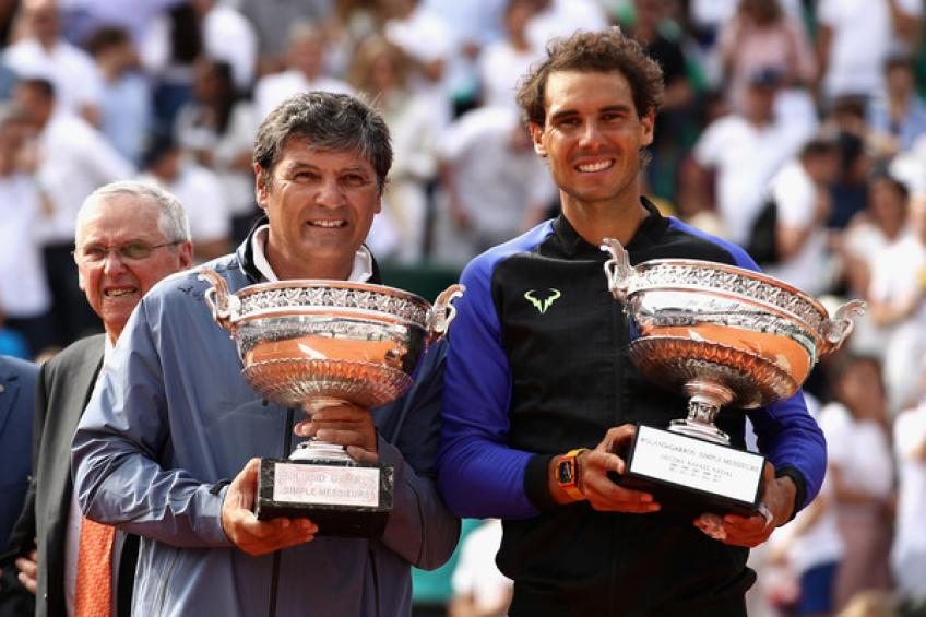 Toni Nadal: 'Roger Federer is among the greatest athletes, Rafael Nadal would join..'