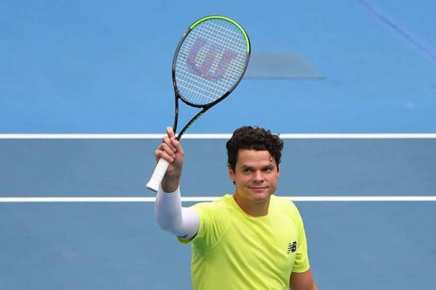 Milos Raonic speaks on when we might see tennis again