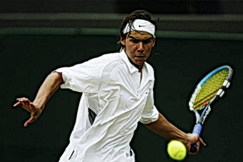 Rafael Nadal recalls: 'I'm happy with my performance on grass, as I did not..'