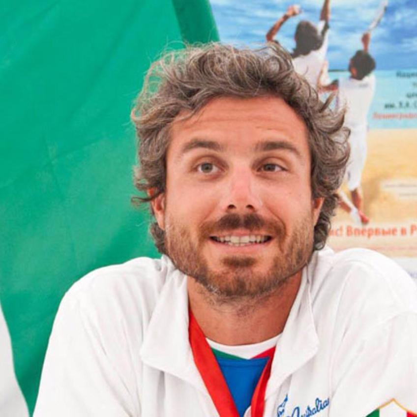 Beach Tennis World No. 1 Alessandro Calbucci on Comparisons to Roger Federer