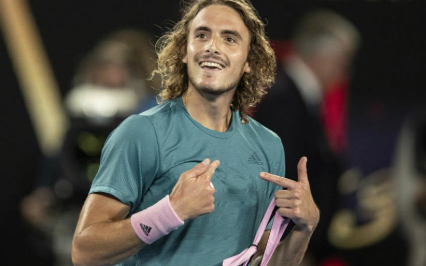 Stefanos Tsitsipas: I can imitate players doing interviews but I'm too shy for that