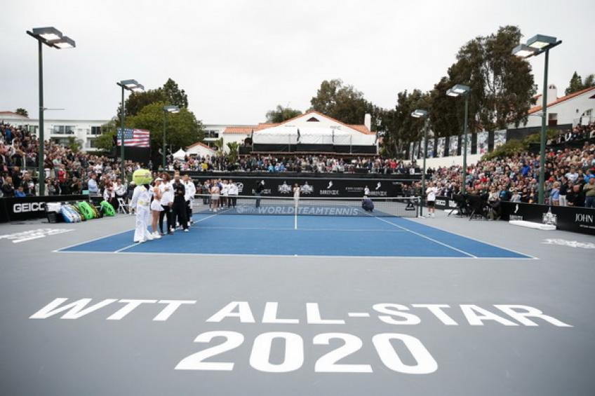 World TeamTennis organizers still hope to stage the event in July