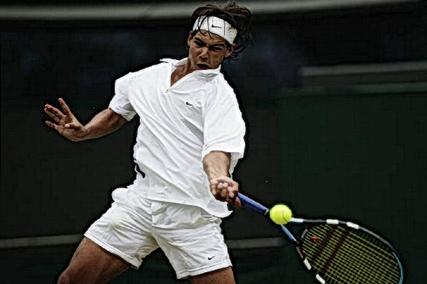 Teenager Rafael Nadal understands - 'I have to be more aggressive, that's my problem'