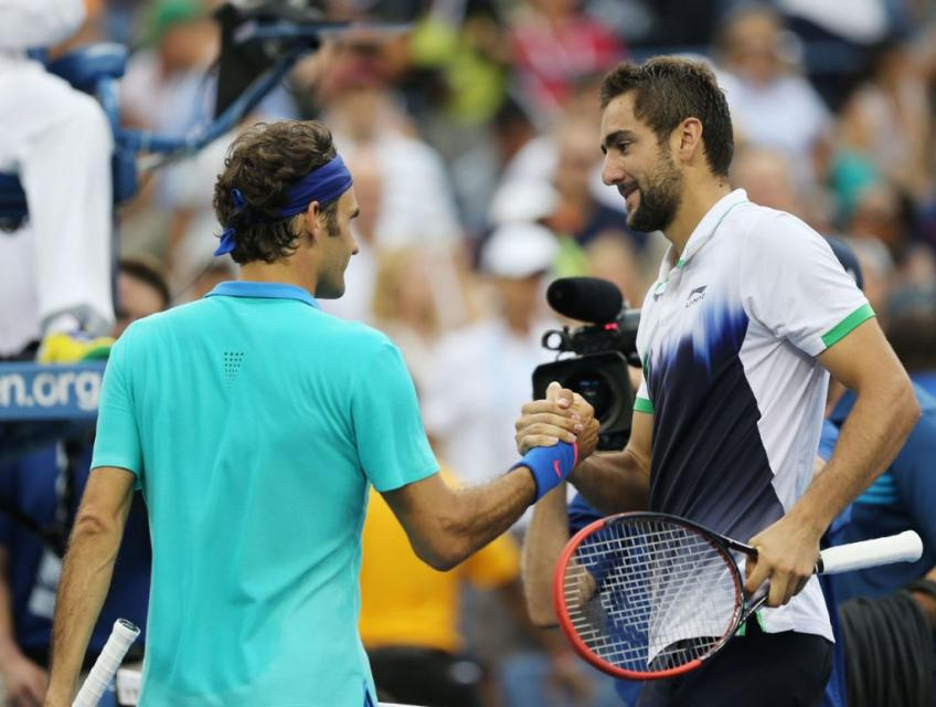 Marin Cilic reflects on beating Roger Federer at the 2014 US Open
