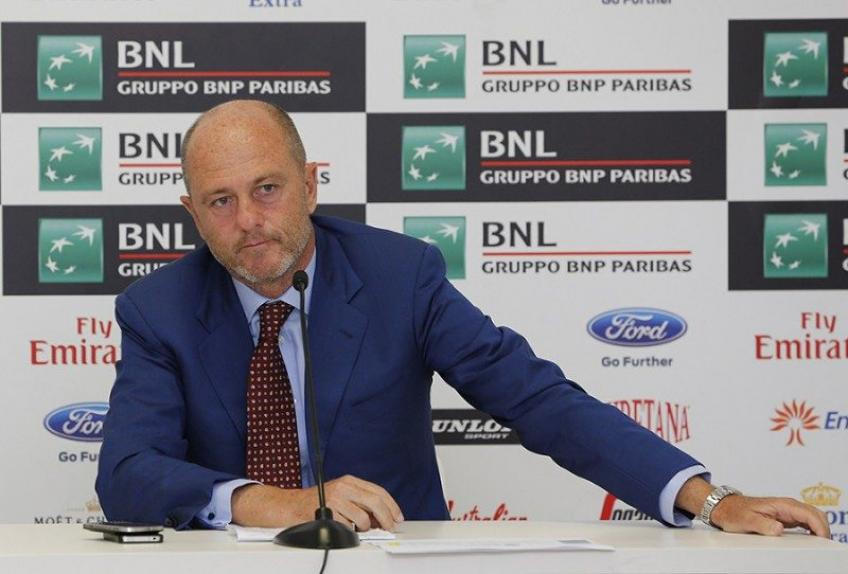"Angelo Binaghi: ""Great chances for the Italian Open to be re-scheduled in 2020"""