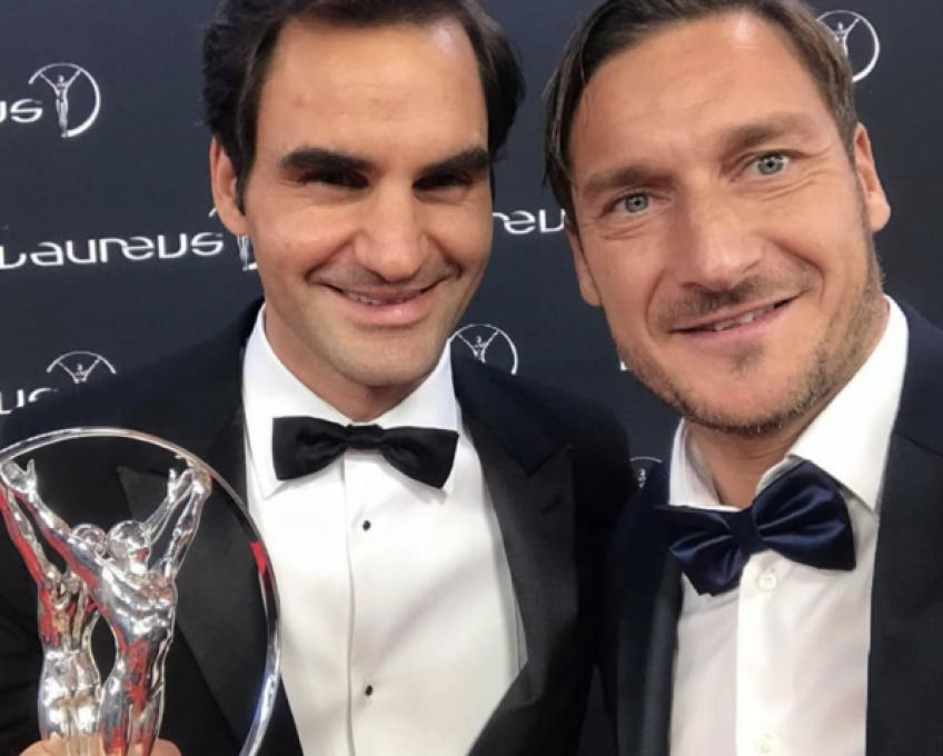 "Francesco Totti: ""Roger Federer is Tennis"""