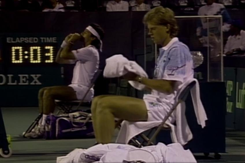 ThrowbackTimes Miami: Stefan Edberg downs Emilio Sanchez to set Andre Agassi clash