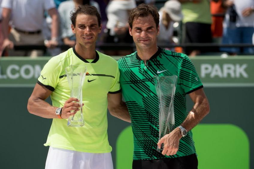 ThrowbackTimes Miami: Roger Federer masters Rafael Nadal to win the title