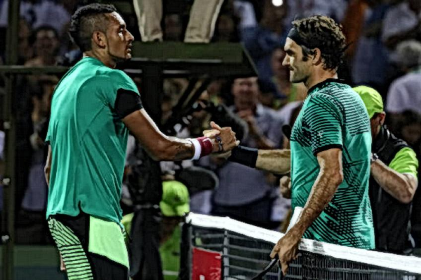 ThrowbackTimes Miami: Roger Federer edges Nick Kyrgios in a thriller