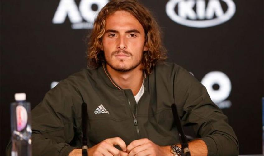 """Tsitsipas: """"I can't wait to be back on the court because competition keeps me alive"""""""