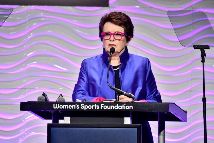 Billie Jean King: Women Athletes Should Remain Focused on Fight for Equality
