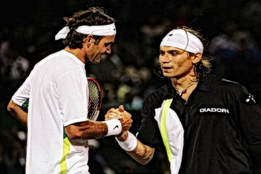 ThrowbackTimes Miami: Roger Federer topples David Ferrer in an hour