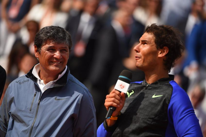 Toni Nadal:'I always wanted to believe that Rafael Nadal could be a very good player'
