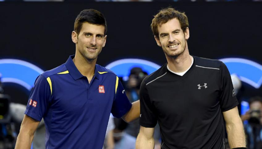 Novak Djokovic and Andy Murray invite fans to participate in their Q&A