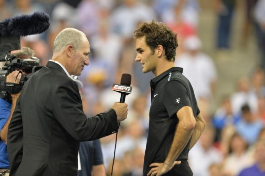 Gilbert: The break is giving Roger Federer a chance to recover without anyone playing
