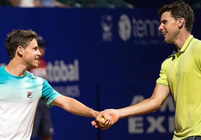 Dominic Thiem and Juan Monaco join Diego Schwartzman's initiative for the Red Cross
