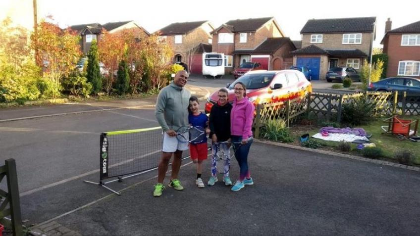 Family of Four in the City of Rugby Plays Marathon Match to Raise Funds for NHS