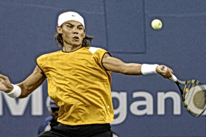 Young Rafael Nadal admits: 'I needed higher level against Andy Roddick'