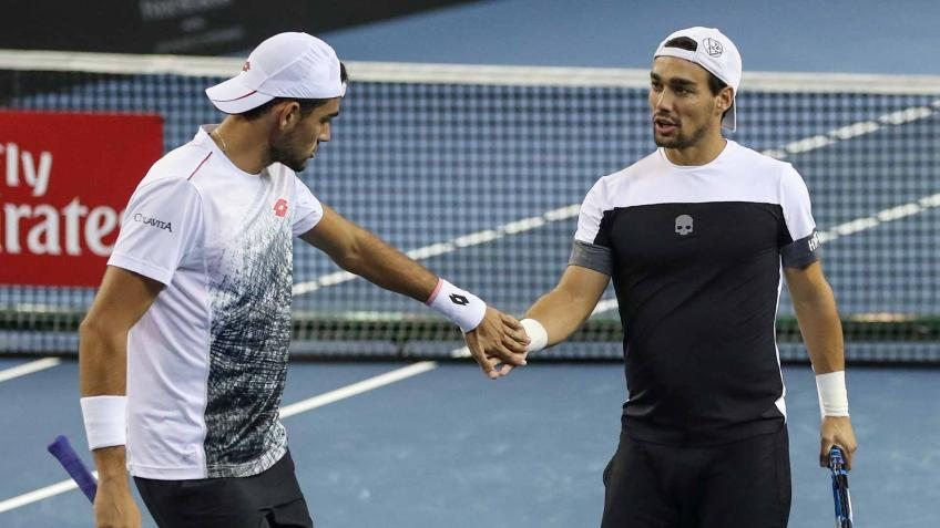 Fabio Fognini speaks highly of Matteo Berrettini, Jannik Sinner