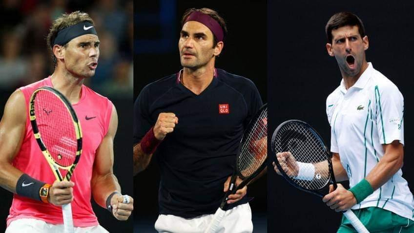 Who among Roger Federer, Nadal and Djokovic has the best serve and return?