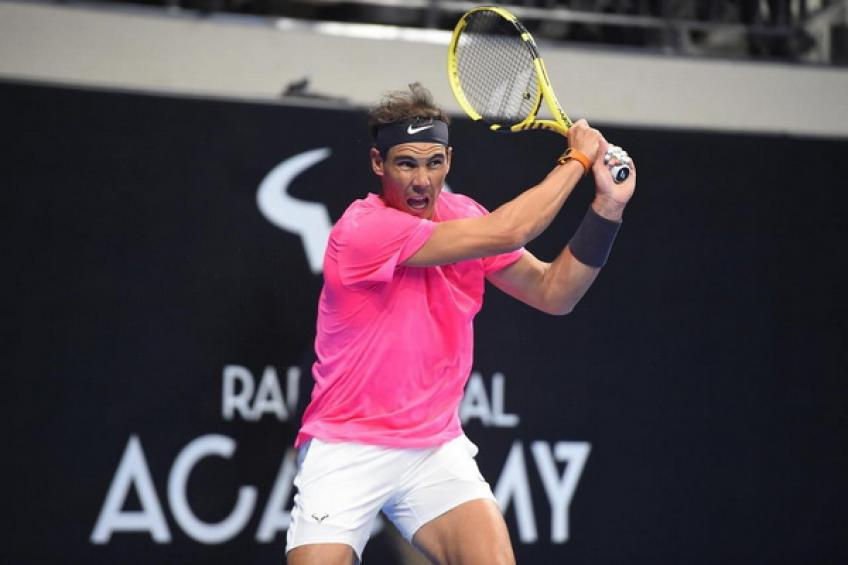 Rafael Nadal opens his Academy for professional players to train and compete