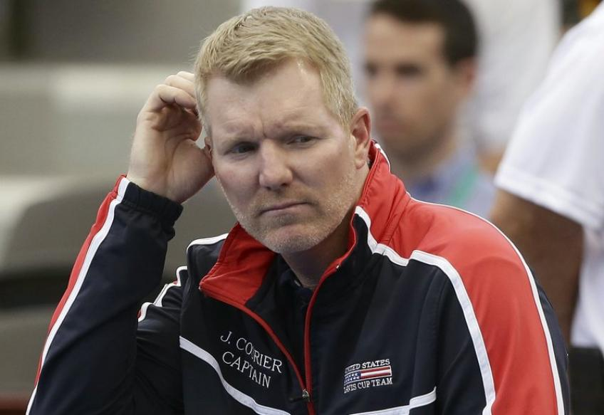 Jim Courier predicts tournament prize money will be reduced