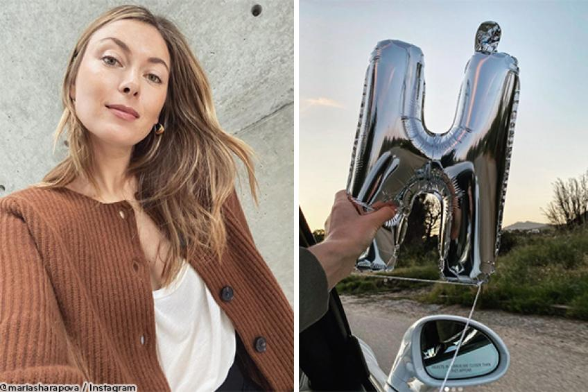 Maria Sharapova has a blast on her birthday, beating social distancing boredom
