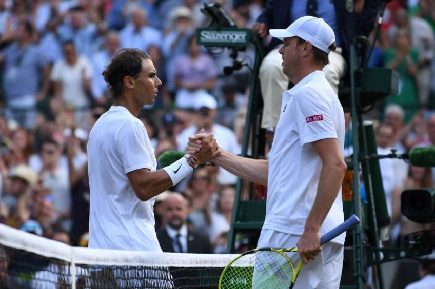 Sam Querrey: I'd give anything to face Rafael Nadal right now