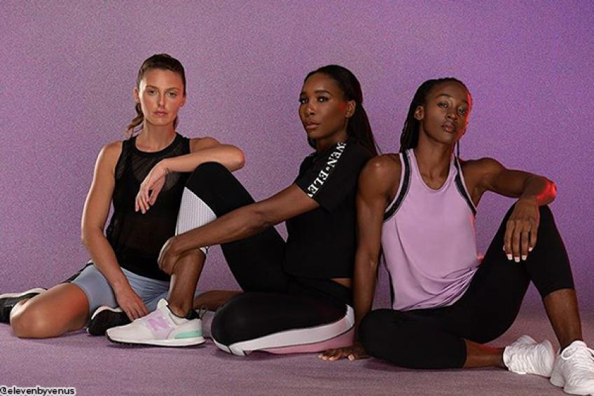 Venus Williams releases loungewear collection to encourage home workouts