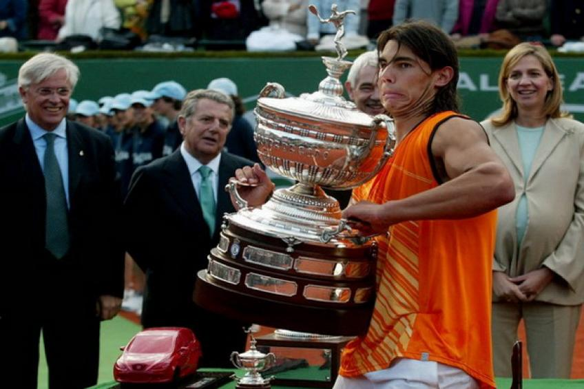 ThrowbackTimes Barcelona: Rafael Nadal wins first title over Juan Carlos Ferrero