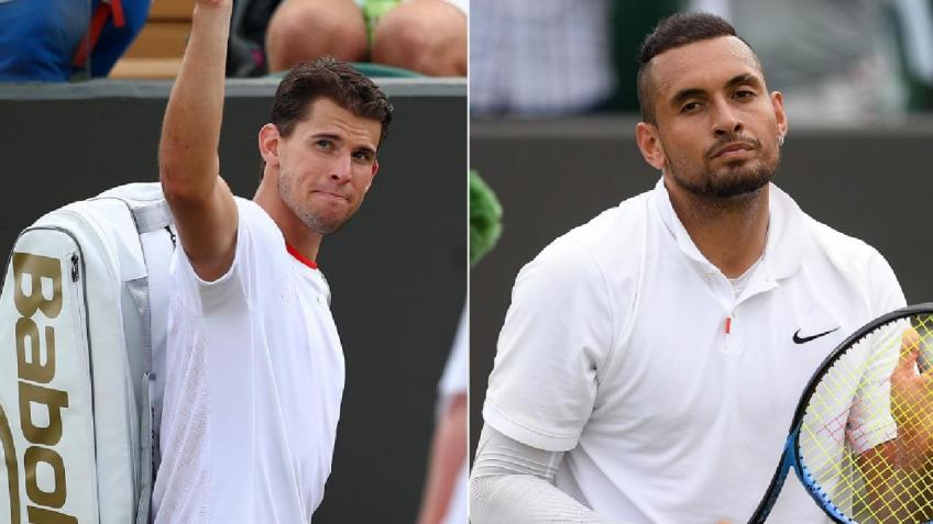 Nck Kyrgios Criticizes Dominic Thiem for Stance on Helping Lower Ranked Players