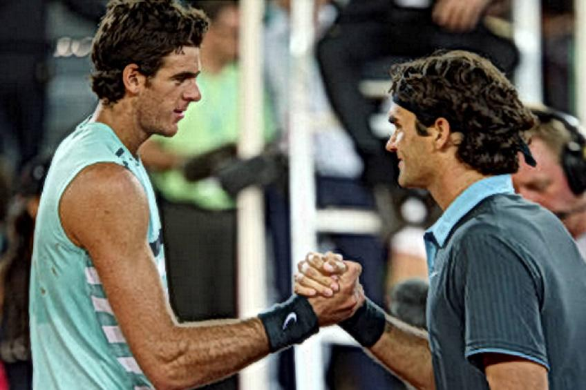 ThrowbackTimes Madrid: Roger Federer fires 46 winners against Juan Martin del Potro
