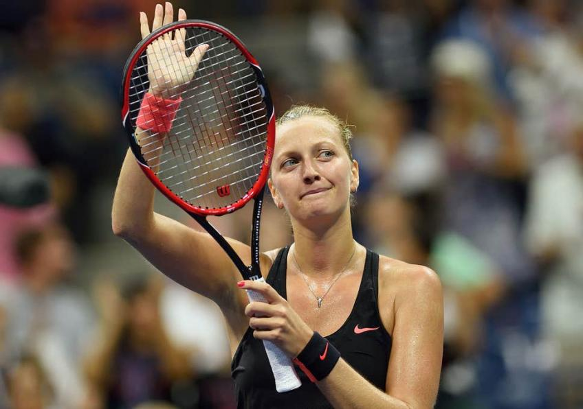 Petra Kvitova Feels Good After Returning to the Courts to Hit Tennis Balls Again