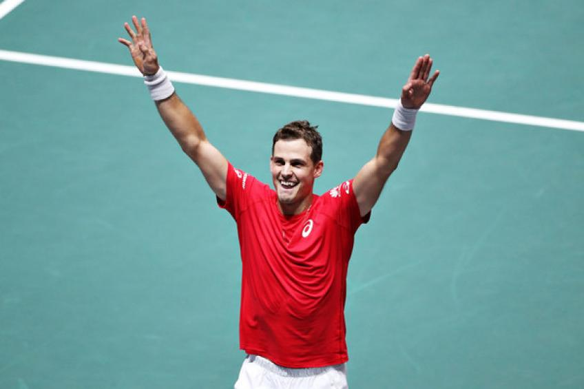 """Vasek Pospisil: """"We're not used to training or playing without a target in mind"""""""