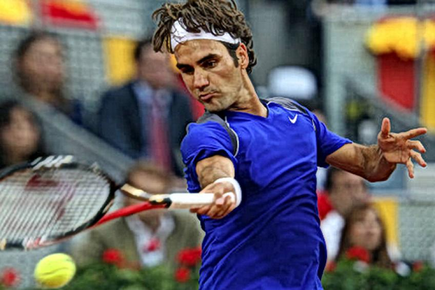 ThrowbackTimes Madrid: Roger Federer wins epic clash against Feliciano Lopez