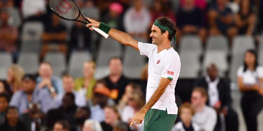 American player: 'Anybody is going to pick up Roger Federer'