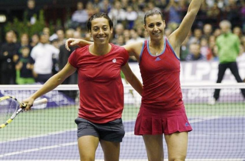 Francesca Schiavone On Becoming Close Friends with Pennetta During Her Illness