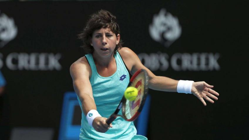 Suarez Navarro: Being aware what you do is helping people in need is very rewarding