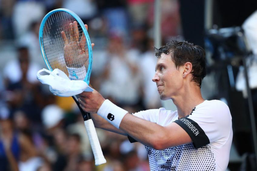 Tomas Berdych sends honest message to tennis authorities