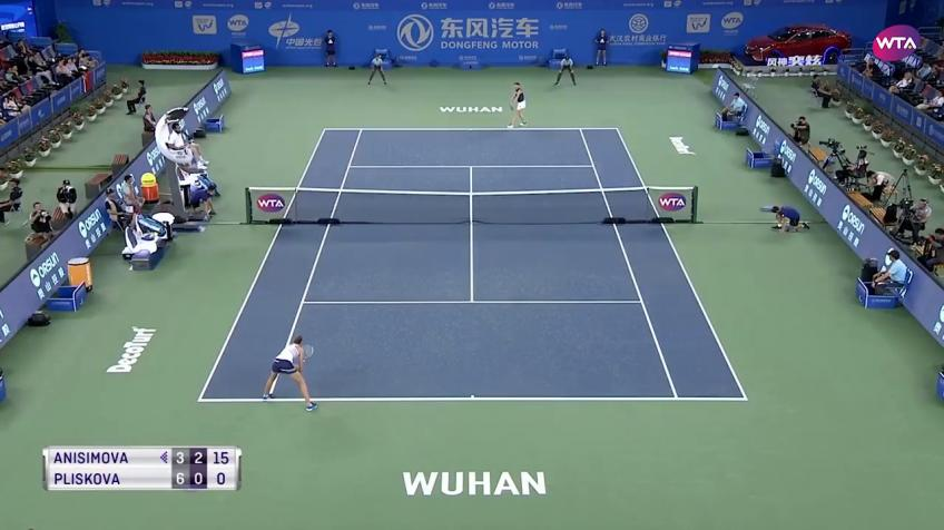 Tennis makes a comeback in Wuhan City
