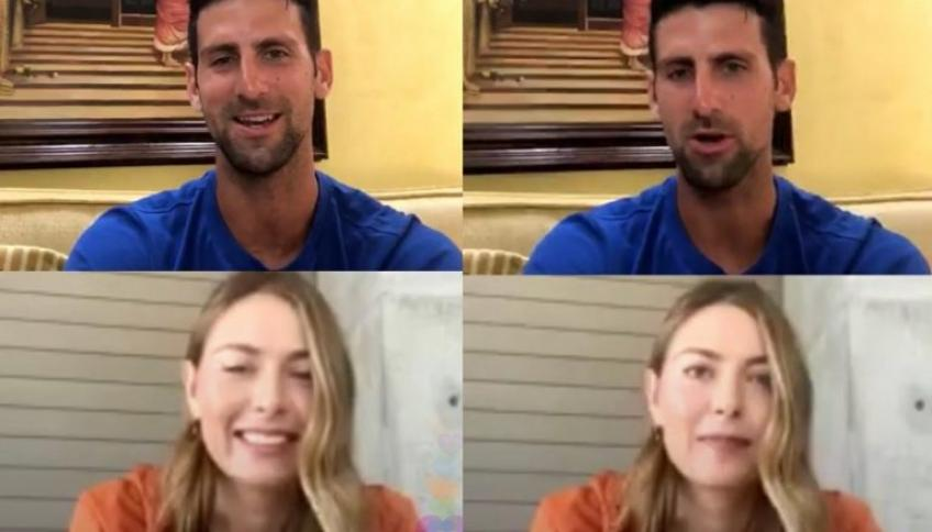 Maria Sharapova Recalls Dinner Date with Novak Djokovic From Their Younger Days