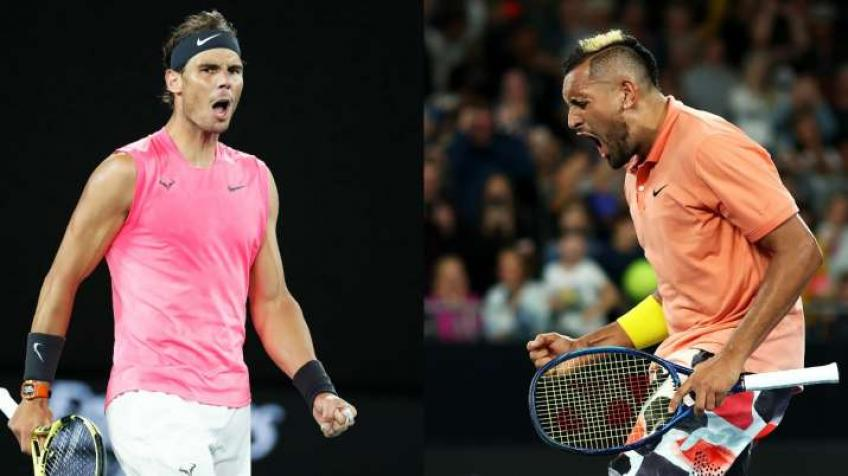 Rafael Nadal Says No for Insta Live with Nick Kyrgios