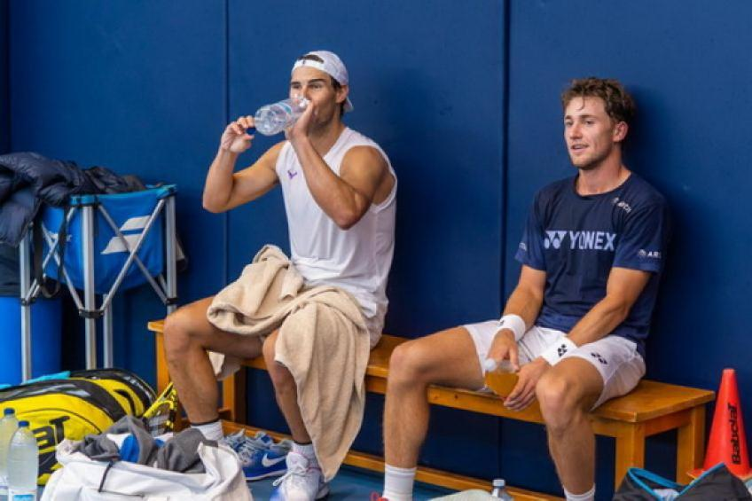 Casper Ruud: 'Rafael Nadal is my idol'